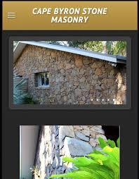 Cape Byron Stone Masonry Mobile Website - Cape Byron Stone Masonry