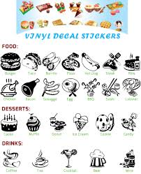 Signmission 12 Taco Salad Decal Sticker Mexican Food Restaurant For Sale Online Ebay