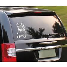 Cute Adhesive Custom 3d Car Sticker French Bulldog Dog Pet Vinyl Car Decal Decor Alexnld Com