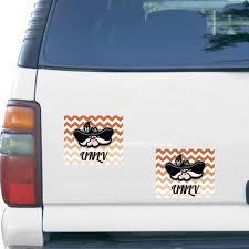 Unlv Rebels 2 Pack Chevron Car Magnets