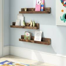 Floating Shelf Baby Kids Bookcases You Ll Love In 2020 Wayfair