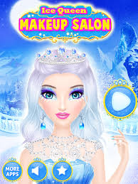 ice queen makeover frozen salon s