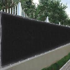 Reasejoy 25x6 Ft Mesh Privacy Fence Windscreen 180 Gsm Hdpe Fabric Slat Sunshade Cover