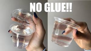how to make clear slime without glue or