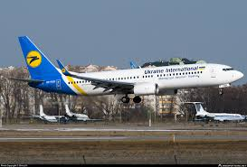 UR-PSR Ukraine International Airlines Boeing 737-8KV(WL ...