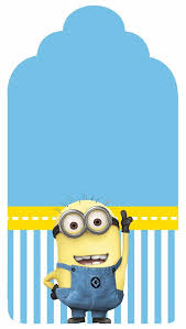 Despicable Me Free Printable Candy Bar Labels Con Immagini