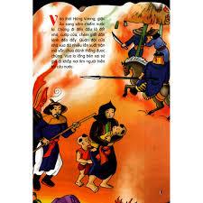 Mã BMHOT99 giảm 15% đơn 99k] Sách - Truyện Cổ Tích Việt Nam Dành Cho Thiếu  Nhi - Thánh Gióng