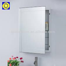 wall mounted corner bathroom mirror