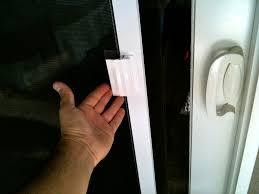 malibu screen door repair window
