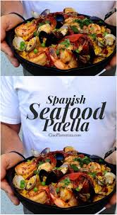Spanish Seafood Paella Recipe (Healthy ...