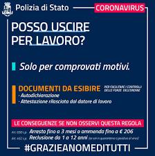 Coronavirus: Italia zona protetta, le norme su mobilità e circolazione