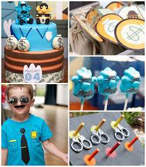 policeman themed birthday party ideas
