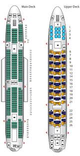 emirates a380 business cl seat map