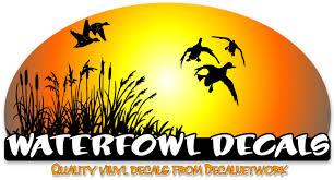 Waterfowl Vinyl Decals Hunting Duck Geese