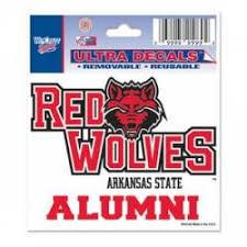 Arkansas State University Stickers Decals Bumper Stickers