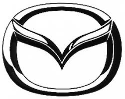 Decal Auto Manufacturer Mazda Logo Large 18 1 2 X 14 1 2
