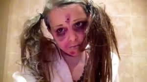 walking dead little zombie makeup