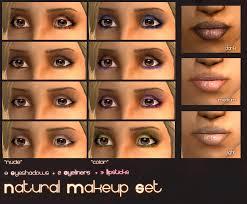 natural makeup set 8 eyeshadows