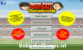 play sports heads soccer unblocked for