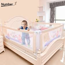 Baby Bed Fence Home Kids Playpen Safety Gate Products Child Care Barrier For Beds Crib Rails Security Fencing Children Guardrail Baby Playpens Aliexpress