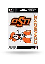 Oklahoma State Cowboys 3pk Auto Decal Orange 7141267