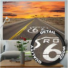 Route 66 Us New Mexico Vintage Car Decal Sticker Auto Parts And Vehicles Car Truck Graphics Decals Magenta Cl