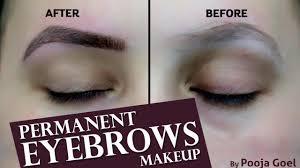 permanent eyebrows tutorial video