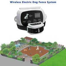 2 Dogs Electric Dog Fence System Wireless Invisible Dog Fence Guardian Electric Invisible Wireless Dog Fence Dog Containment System Walmart Canada
