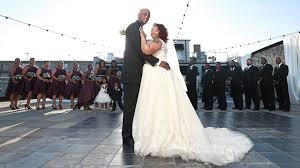 wedding highlight at the kress terrace