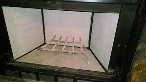 replacement fireplace refractory panel