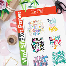 This Super Value Pack Of 20 Matte Printable Vinyl Sheets Allows You To Create Beautiful Water In 2020 Vinyl Sticker Paper Printable Vinyl Printable Vinyl Sticker Paper