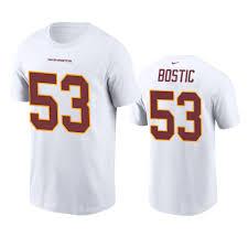 Washington Football Team Jon Bostic ...