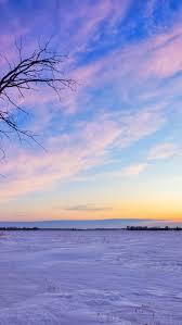 beautiful winter sunset iphone 5 wallpaper