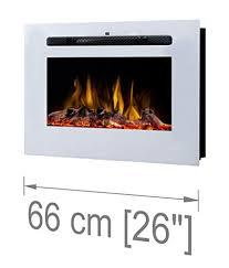 noble flame paris white 660 electric