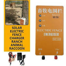 Ad Ebay Url 10km Electric Fence Energizer Charger For Animals Electric Fencing Controller Solar Electric Fence Electric Fence Energizer Electric Fence