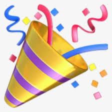 Party Popper Emoji Png - Party Emoji Png, Transparent Png - kindpng