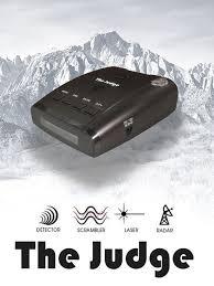 the judge laser radar detector