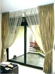 sliding door blackout curtains