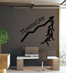 Vinyl Wall Decal Teamwork Logo Business Home Office Motivation Stickers 4292ig For Sale Online