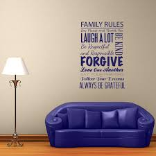 Family Rules Wall Decal Wall Decal World