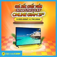 Smart Tivi LG 43 inch với công nghệ âm... - Điện máy XANH (dienmayxanh.com)