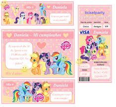 My Little Pony Tarjetas De Cumpleanos Imagui