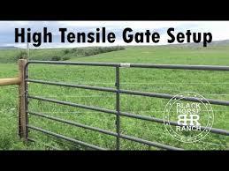 High Tensile Gate Detail Youtube