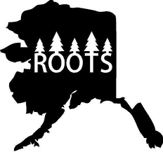 Alaska Roots State Vinyl Decal Wall Lettering Words Quotes Etsy