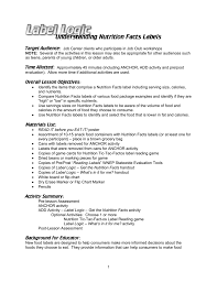 understanding nutrition facts labels