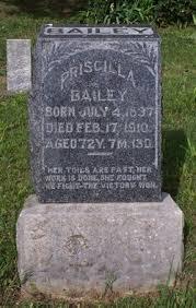 Photos of Priscilla Bailey - Find A Grave Memorial