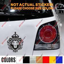 Lion Of Judah Head Decal Sticker Rasta Rastafari Flag Car Vinyl Jamaica C Car Stickers Aliexpress