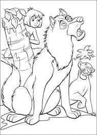 Jungle Book Oppassen Kleurplaten
