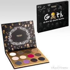 goth eyeshadow palette 12 color matte