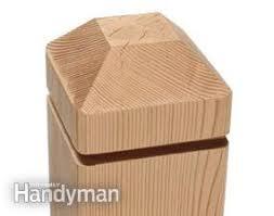 Making Deck Posts Diy Family Handyman